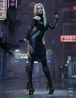 dForce FZX Outfit for Genesis 8 Females