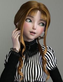 dForce Dalia Hair for Genesis 8 Females