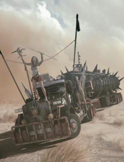 Post Apocalyptic Truck