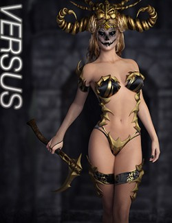 VERSUS - Endless Corruption for Genesis 8 Females