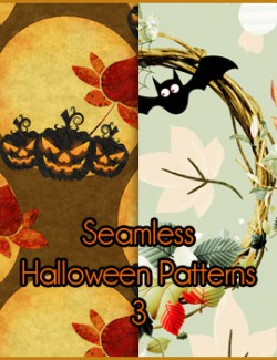Seamless Halloween Patterns 3