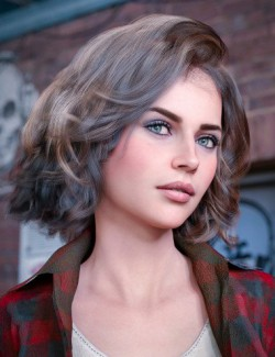 dforce Neroli Hair for Genesis 8 and Genesis 3 Females