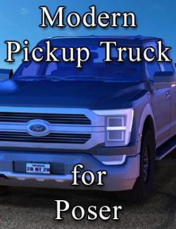 Modern Pickup Truck for Poser