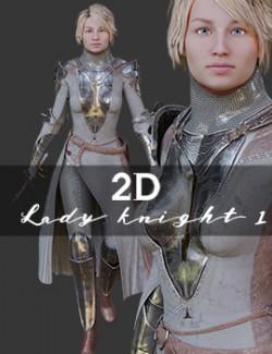 2D Lady Knight 1