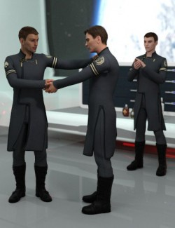 Human Interaction Poses for Genesis 8