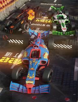 Fermion Race Car : Fury