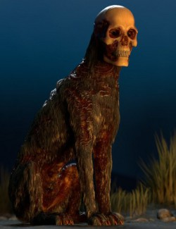 Skull Hound HD for Daz Dog 8