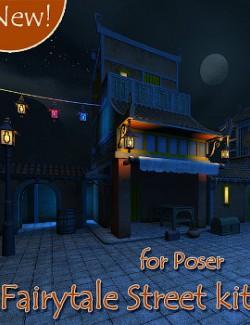 Fairytale Street kit for Poser