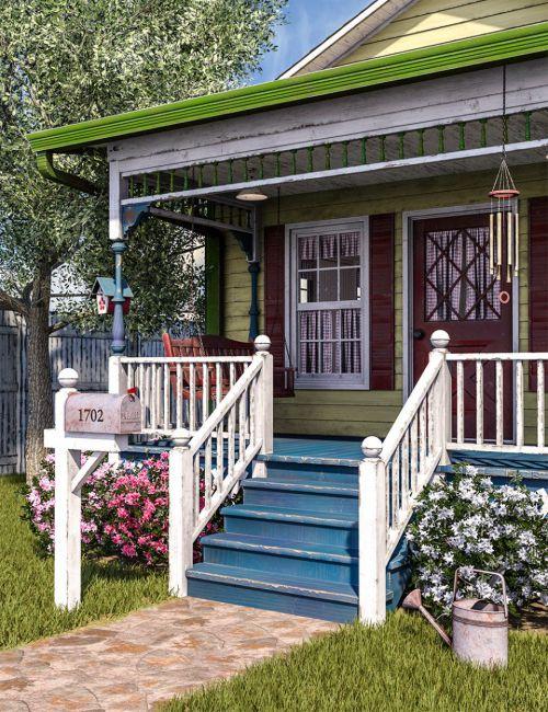 SW Cottage Porch