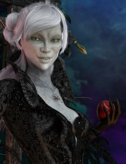 Mst Crypthea HD for Genesis 8 Female
