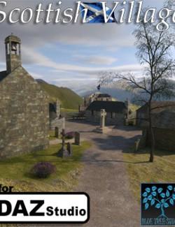 Scottish Village for Daz Studio