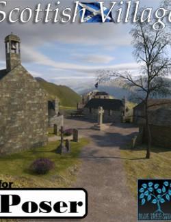 Scottish Village for Poser
