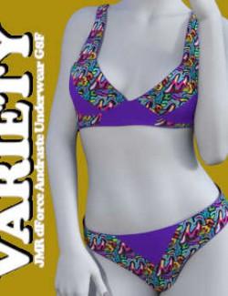 VARIETY- JMR- dForce- Andraste- Underwear- G8F- Daz Studio