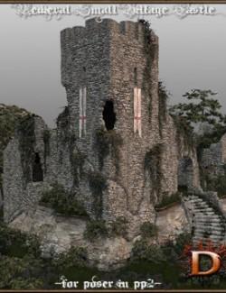 Medieval Small Village Castle