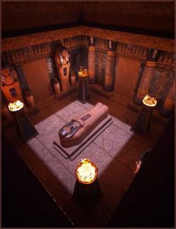 The Lapis Pyramid Tomb