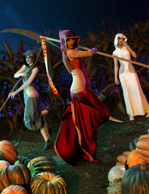 FF's Eternal Handmaiden Poses for Genesis 8 Female