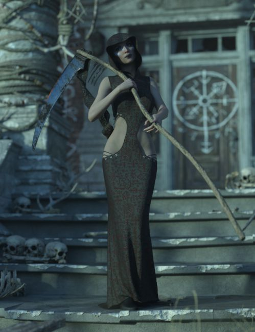 Ethereal Textures for Eternal Handmaiden Outfit