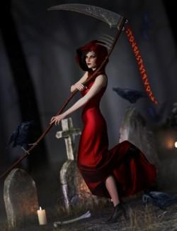 dForce Eternal Handmaiden Outfit for Genesis 8 Females