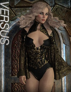 VERSUS - CruX Rogue Raven Bodysuit with dForce