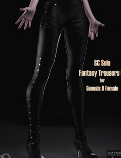 SC Solo Fantasy Trousers 01 for Genesis 8 female
