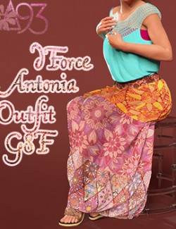a93 - dForce Antonia Outfit G8F
