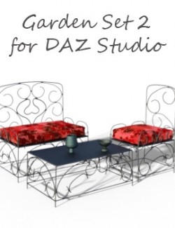 Garden Set 2 for DAZ Studio
