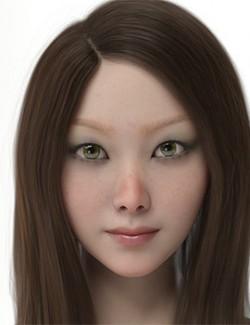 Asami For Genesis 8 Female