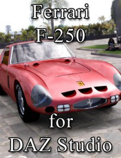 Ferrari F-250 for DAZ Studio