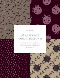30 Abstract Fabric Textures