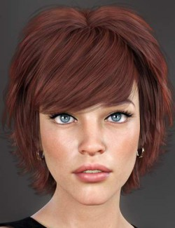 Lissa Hair for Genesis 8 Females
