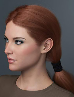 Chunky Pigtails for Genesis 3 and 8 Females