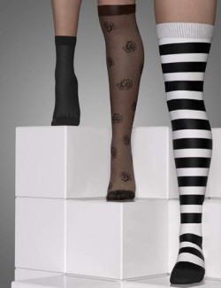 Sexy Skinz - Ultimate Stockings for Genesis 8 Female