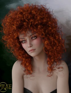 Prae-Lucy Hair For G8 Daz