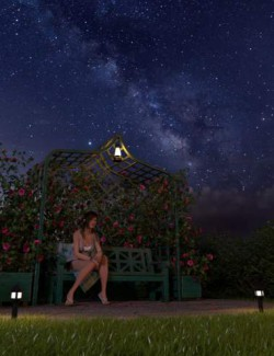 Orestes Iray HDRI Skydomes - A Night in August