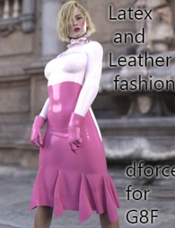 dforce Latex and Leather fashion for g8f