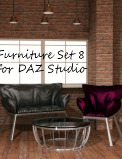 Furniture Set 8 for DAZ Studio