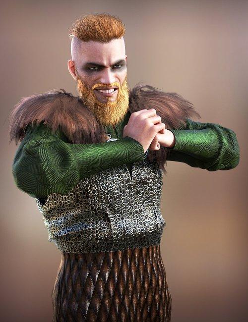Viking Animations for Genesis 8