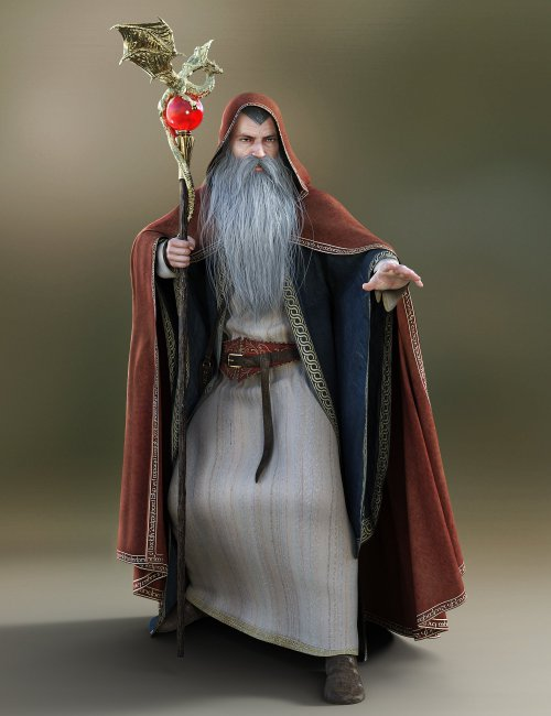 Magic Spell Caster Animations for Genesis 8