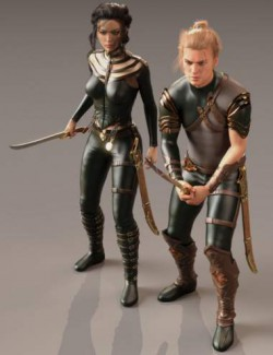 Variety Sword Pack Animations 2 for Genesis 8