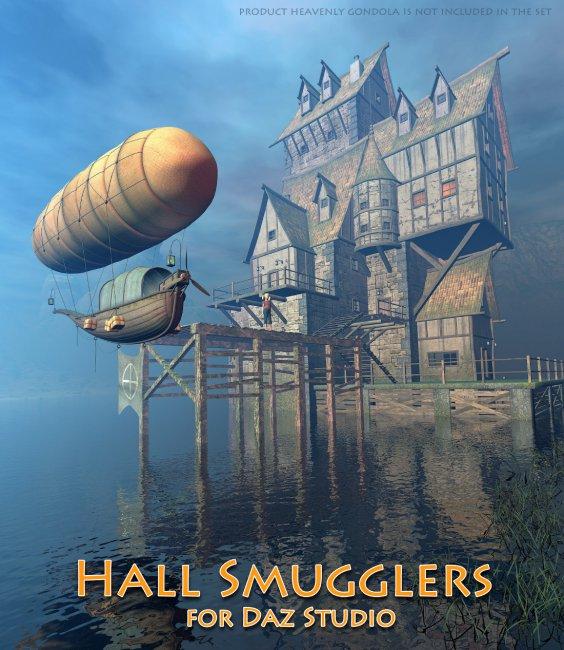 Hall Smugglers for Daz Studio