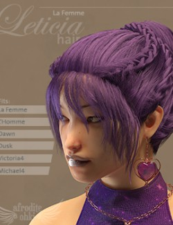Leticia Hair for La Femme and more