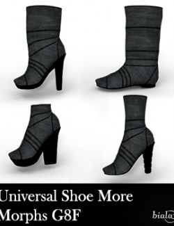 Universal Shoes More Morphs for G8F
