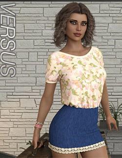 VERSUS- dForce Happy Times for Genesis 8 Females