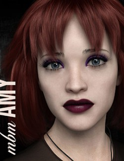 MbM Amy for Genesis 3 and 8 Female