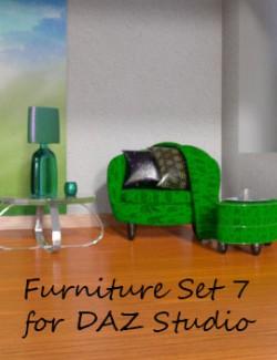 Furniture Set 7 for DAZ Studio