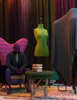 Fabulous Fabrics - Tweed Iray Shaders