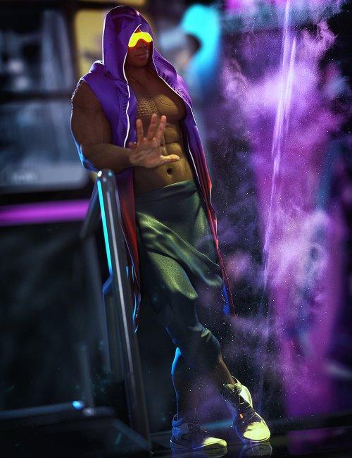 dForce Niko Outfit for Genesis 8 Males