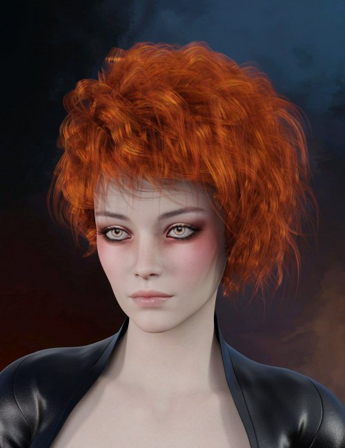 Valen Hair for Genesis 8 Females and Males