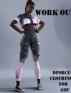 dforce work out clothing for G8F