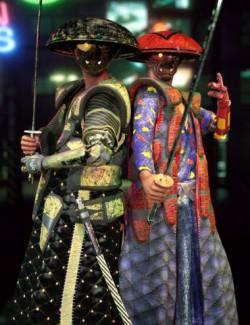 Street Sweeper - Cyber Samurai for Genesis 8 Male